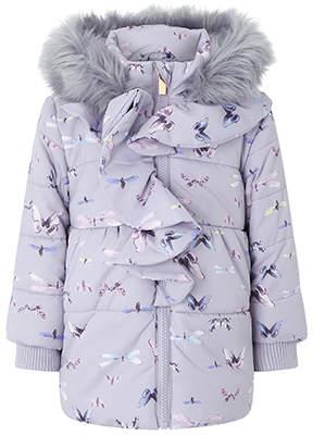 Monsoon Baby Flutter Print Coat