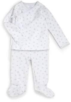 Ralph Lauren Infant's Two-Piece Kimono Top& Pants Set