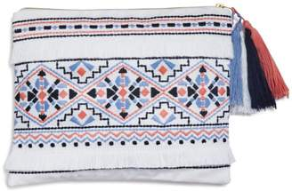 Sky Azteca Embroidered Pouch - 100% Exclusive