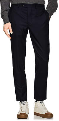Officine Generale Men's Wool Classic Trousers - Navy