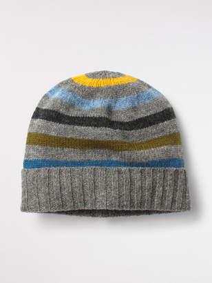 White Stuff Stefan Stripe Beanie Hat
