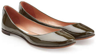 L'Autre Chose Patent Leather Ballerinas