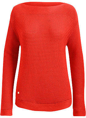Ralph Lauren Ribbed Cotton Boatneck Sweater