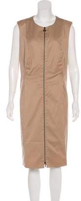 Akris Punto Sleeveless Knee-Length Dress