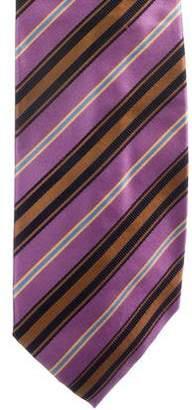 Stefano Ricci Striped Silk-Blend Tie