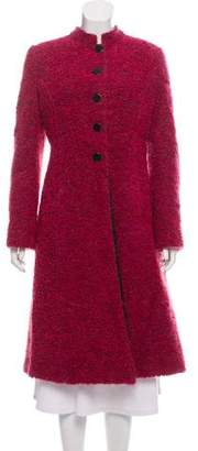 Armani Collezioni Wool Long Coat