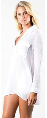 Rusty Women's Apparel Junior's Karina Beach Shirt