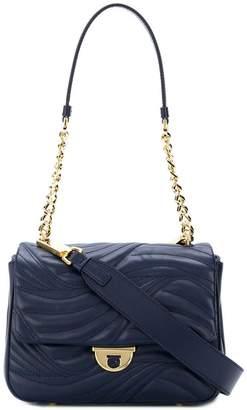 5bde51e02055 ... Farfetch · Salvatore Ferragamo quilted chain and leather shoulder bag