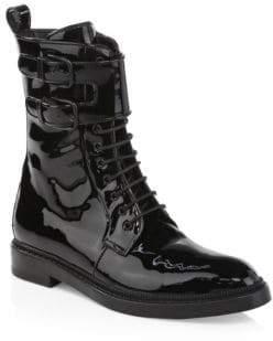 Paul Andrew Landrey Patent Combat Boots