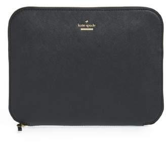 Kate Spade Saffiano Leather Organization Tablet Sleeve
