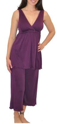 aMAMAnte! nursingwear Capri Nursing Pajamas