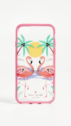 Kate Spade Jeweled Flamingos iPhone 7 Plus / 8 Plus Case