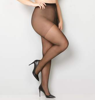 Avenue Daysheer Control Top Pantyhose with Spandex