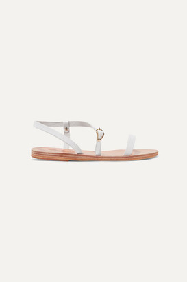 Ancient Greek Sandals Niove Leather Sandals - White