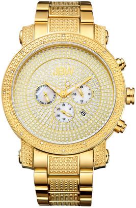 JBW Men's Victor Diamond & Crystal Watch