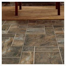 Armstrong Flooring 15.95 x 47.76 x 8mm Tile Laminate Flooring in Brown