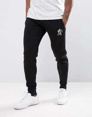 Gym King Skinny Fit Joggers In Black