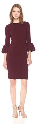 Betsy & Adam Women's Bell Sleeve Dress