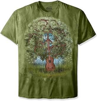 The Mountain Guitar Tree T-Shirt, 5X-Large
