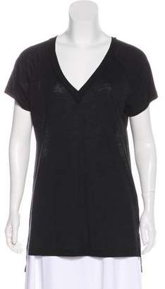 LnA Short Sleeve Knit Top