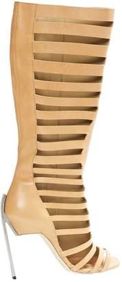 Vic Matié Beige Leather High Heel