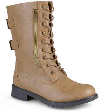 Journee Collection Kendel Combat Boot - Women's