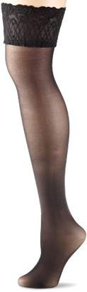 Elbeo Women's 902422/Soft & Resistant 20 Hold-up Stockings,4 (Manufacturer size:I (Manufacturer size:35-37)