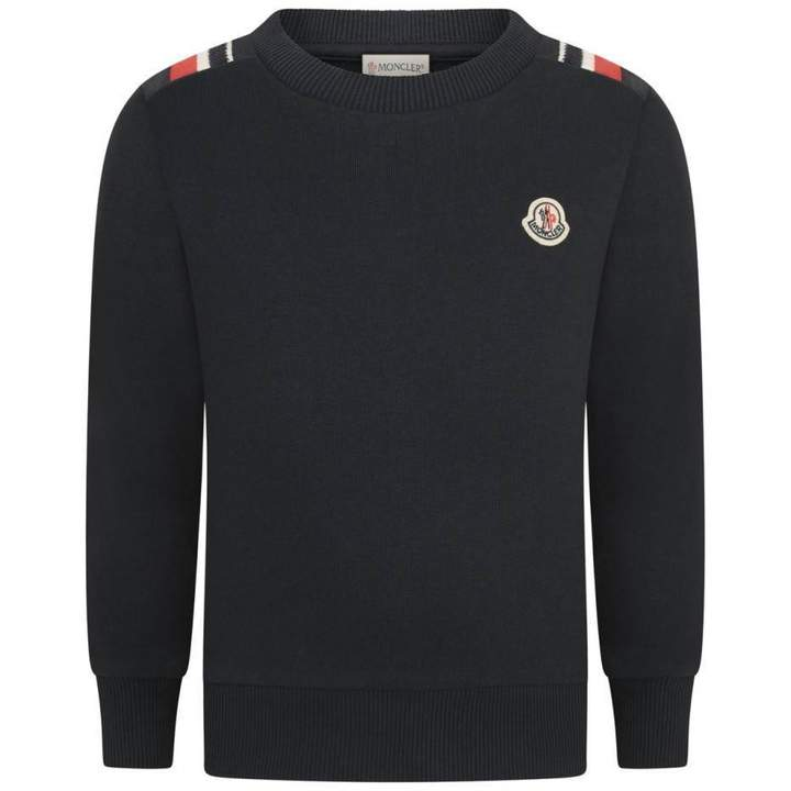 MonclerBoys Navy Sweater