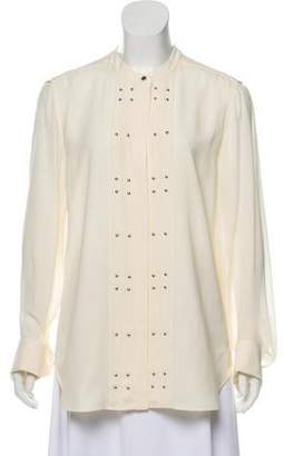 Belstaff Silk Embellished Top