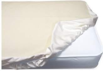 Naturepedic Organic Cotton Waterproof Fitted Crib Protector Pad