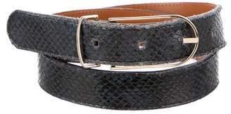 MAISON BOINET Embossed Waist Belt