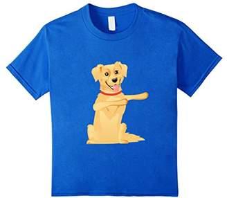 Golden Retriever Funny Shirt - Puppies Dabbing TShirt