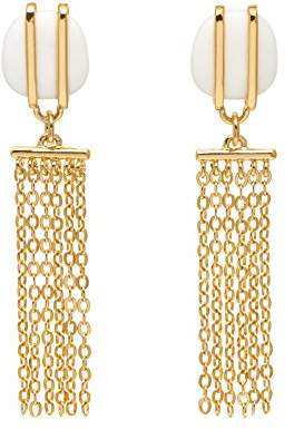 Lola Rose Women White Coral Dangle and Drop Earrings 697453 RnTgrKa