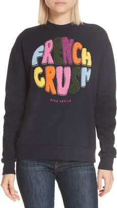 etre cecile French Crush Boyfriend Sweatshirt