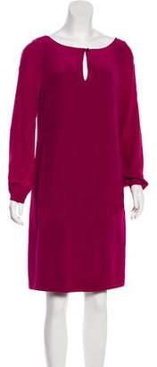 Tory Burch Long Sleeve Knee-Length Dress
