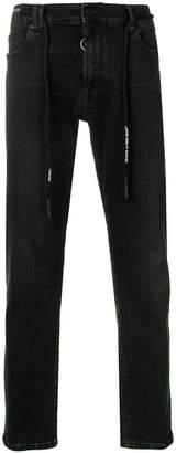 Off-White five pocket skinny jeans