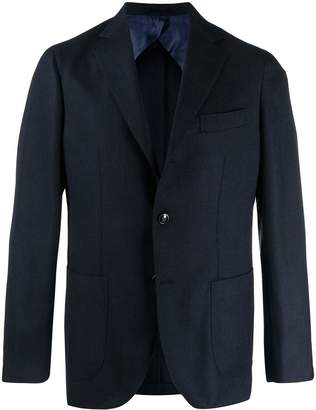 Barba single breasted blazer