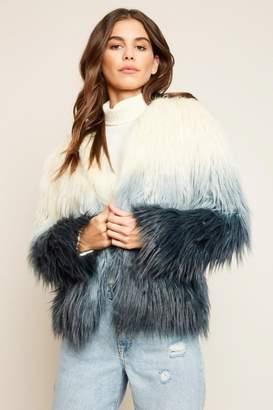 Hayden Ombre Faux Fur
