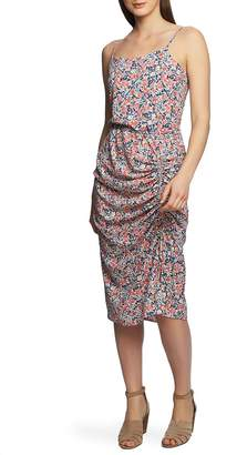 1 STATE 1.STATE Sunwashed Floral Midi Dress