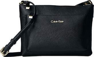 Calvin Klein Saffiano Top Zip Org. Crossbody
