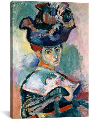 Matisse icanvasart Woman In A Hat (1905) By Henri Reproduction