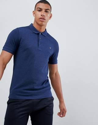 Farah Blaney polo in navy