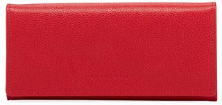 Longchamp Le Foulonne Pebbled Leather Wallet