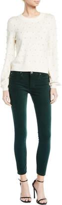 AG Jeans The Legging Velvet Ankle Skinny Pants