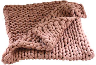 Tjockt Fat Square Merino Wool Blanket
