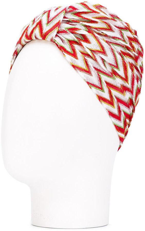 MissoniMissoni crochet knit turban headband