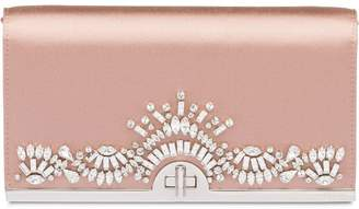 Prada crystal embellished clutch