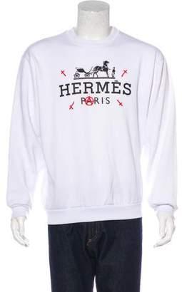 Enfants Riches Deprimes Hermès 1st Capsule Sweatshirt