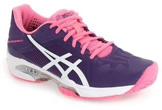 ASICS ® 'GEL-Solution Speed 3' Tennis Shoe (Women) $129.95 thestylecure.com