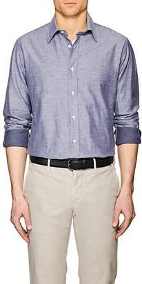 Luciano Barbera Men's Cotton Sport Shirt